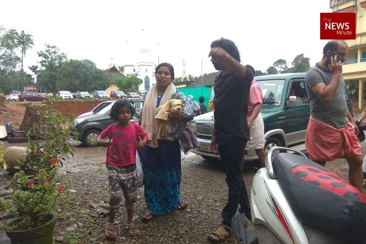 We left with whatever we had on Kerala families turn school into temporary shelter