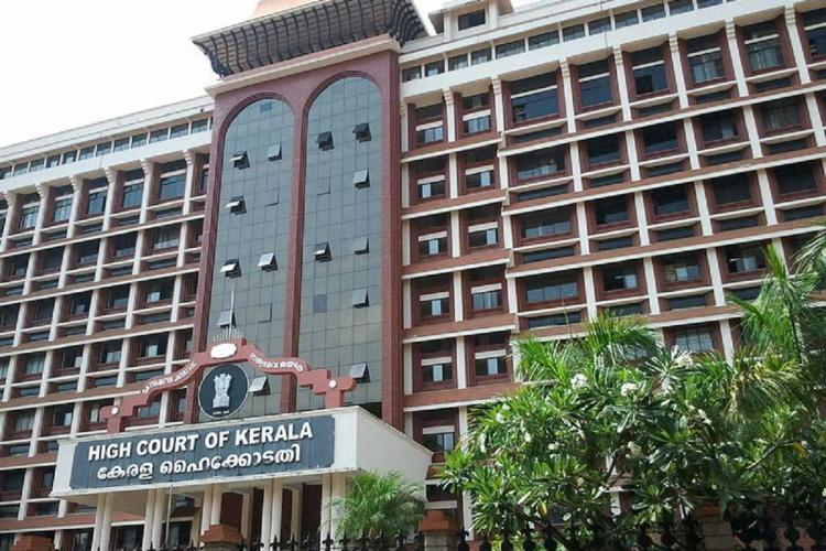 Kerala High Court Building from outside