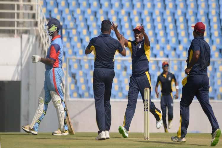 In pics Kerala hosts T20 match between states prisoners and Sri Lankan inmates