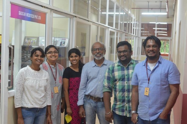 Sascan team of Sree Chitra Institute of Science and Technology Kerala that developed Oralscan