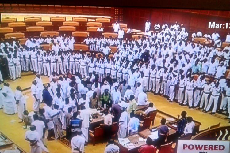 Assembly Speaker - Home Minister row over latters dosa jibe