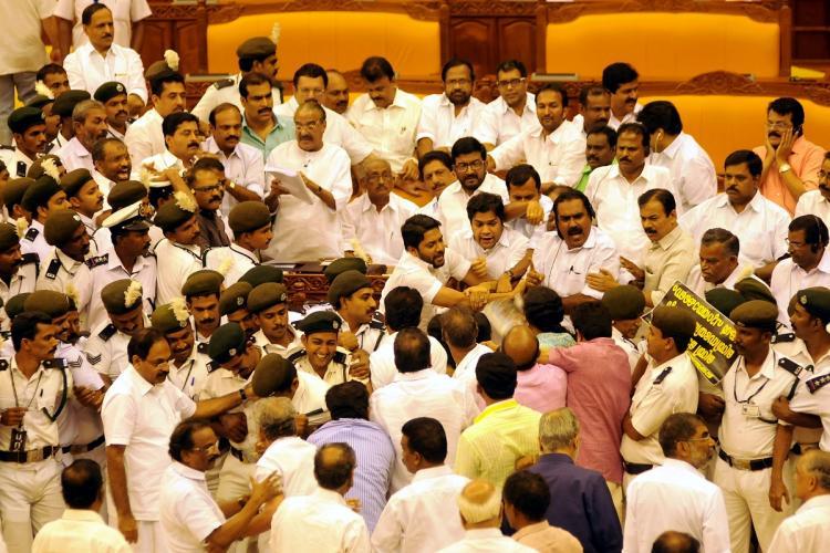 Kerala Assembly Ruckus 2015
