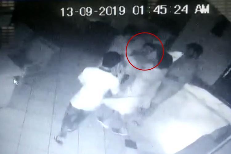 Denied liquor SFI and DYFI members seen manhandling receptionist at Kerala bar