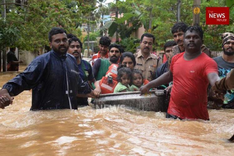 Still from 2018 Kerala flood