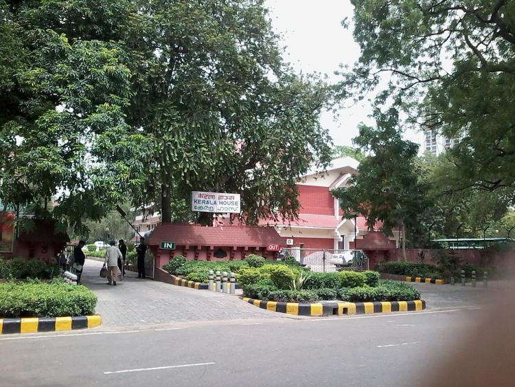 The beef fest that wasnt Security stepped up at Kerala House in Delhi after rumours