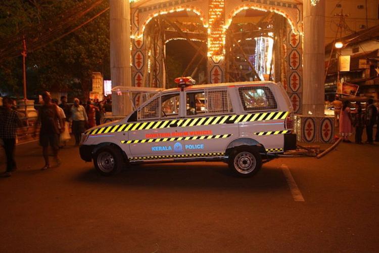 Kerala police vehicle representational image wikipedia