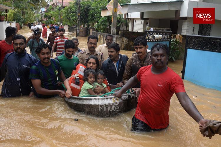 Kerala shows the risk of severe floods is still evolving