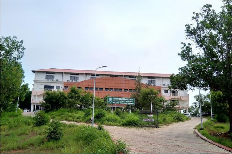 Kerala Abdul Kalam Technological University building with a road in front of it
