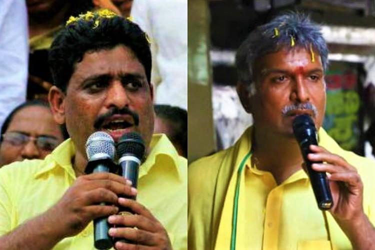Rift within TDP MP Kesineni Nani and MLC Buddha Venkanna spar on Twitter