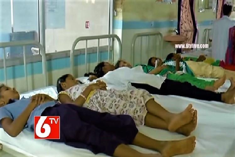48 students of a Telangana school hospitalised authorities suspect food poisoning
