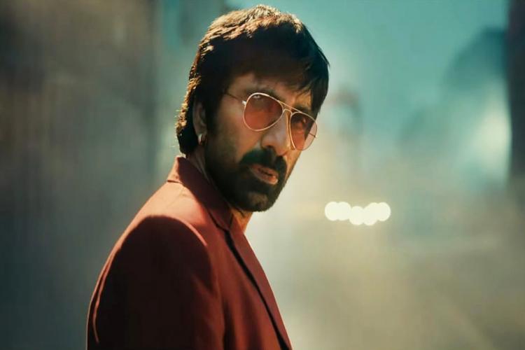 Ravi Teja seen in the teaser of Khiladi