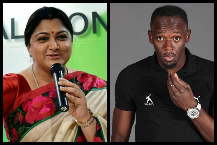 What do Khushbu and Usain Bolt have in common Footy