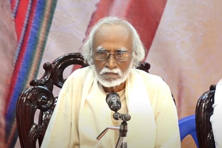 Ki Rajanarayanan in an interview or press meet
