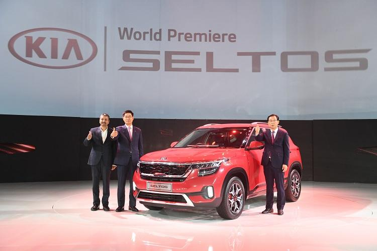 South Korean automobile firm Kia debuts Seltos its first car made in India