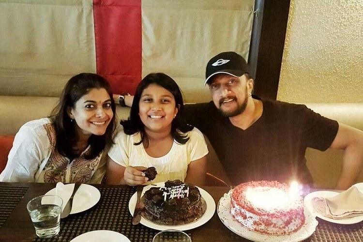 Kichcha Sudeep And Wife Call Off Divorce The News Minute