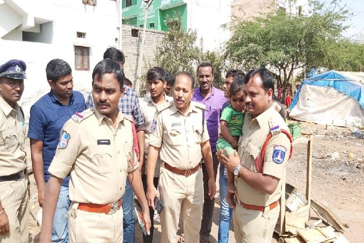 Police rescue 2-year-old girl who went missing in Hyderabad within 3 hours