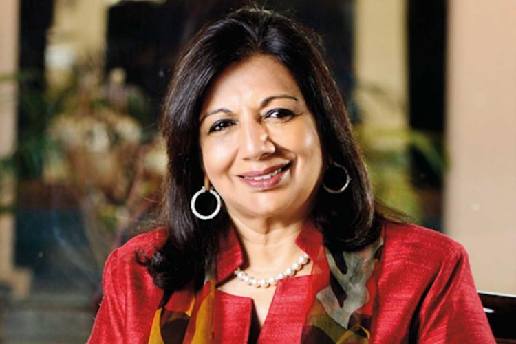 Healthcare industry should be seen as Indias next IT sector Kiran Mazumdar Shaw