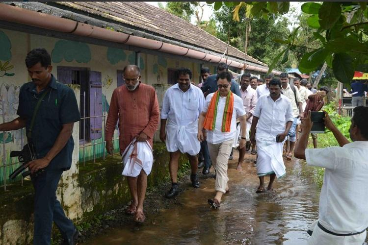 Central team in Kerala to inspect flood-hit districts