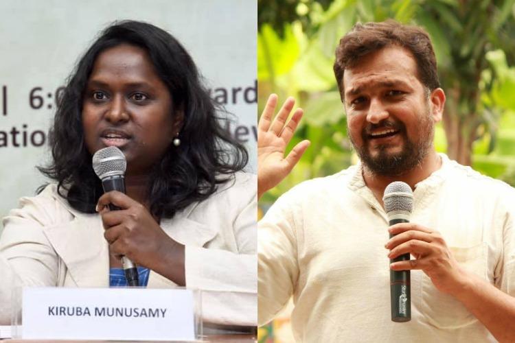 Lawyer Kiruba accuses activist Piyush Manush of targeting her with Mugilan video
