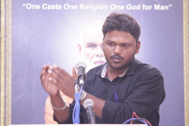 Former secy of Ambedkar Periyar Study Circle alleges Madras University denied him admission