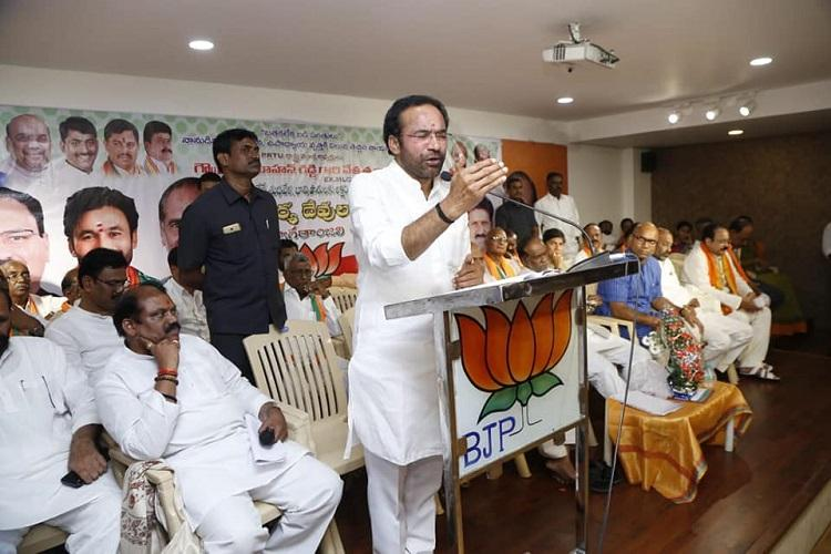 BJP ups the ante in Telangana seeks to cash in on states Liberation Day