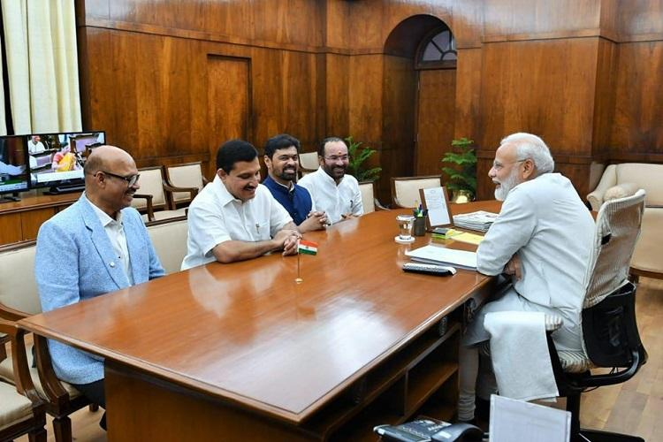 No chargesheets filed against them MoS Kishan Reddy defends TDP MPs who joined BJP