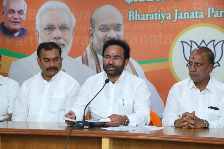 States cant refuse to conduct NPR says MoS Home Kishan Reddy
