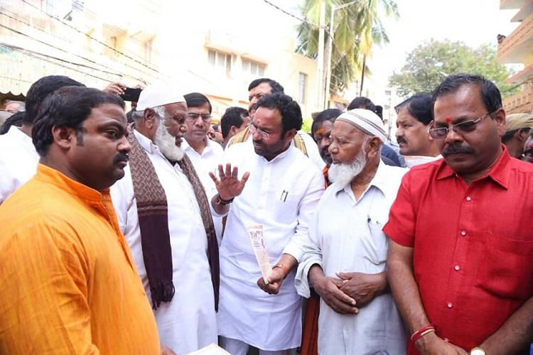 Opposition provoking people Kishan Reddy launches BJPs pro-CAA outreach in Hyderabad