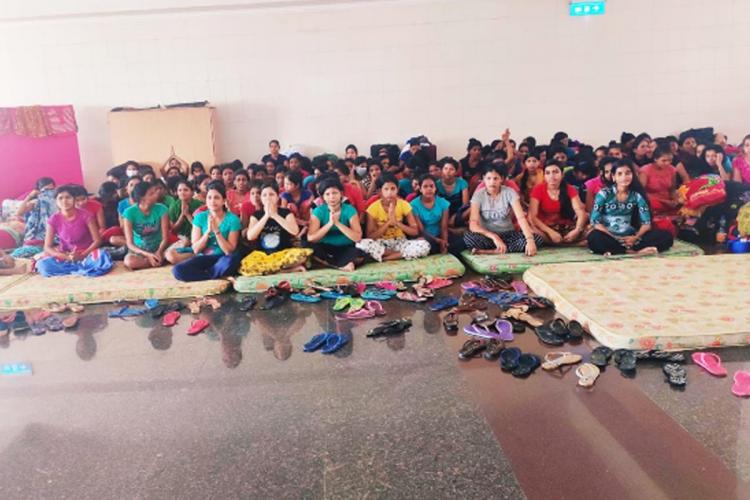 Hundreds of women from Odisha working in KITEX Garments in Kerala resign jobs wanting to go back home and are still stranded
