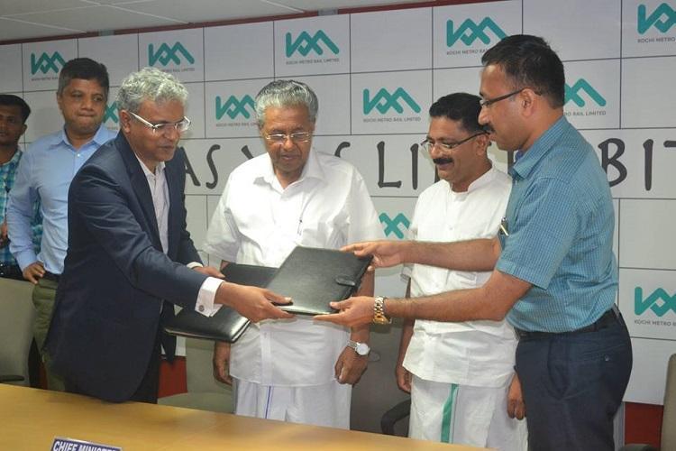 Now Kudumbashree to provide key services for Kochi Metro Rail