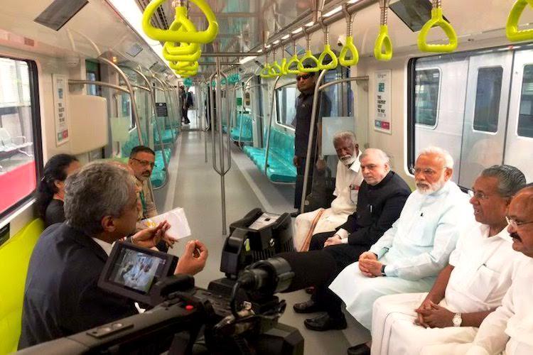 Why was BJP leader Kummanam on Kochi Metro with PM Kerala minister wants probe