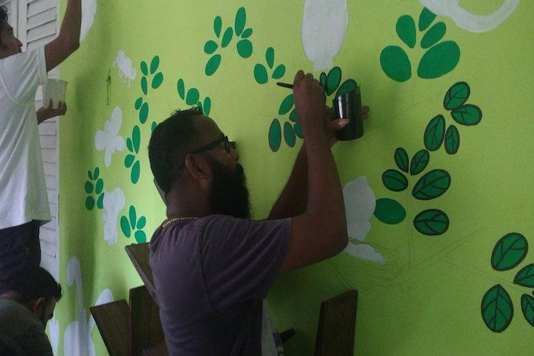 A splash of colour Kochi NGO turns POCSO court waiting room child-friendly