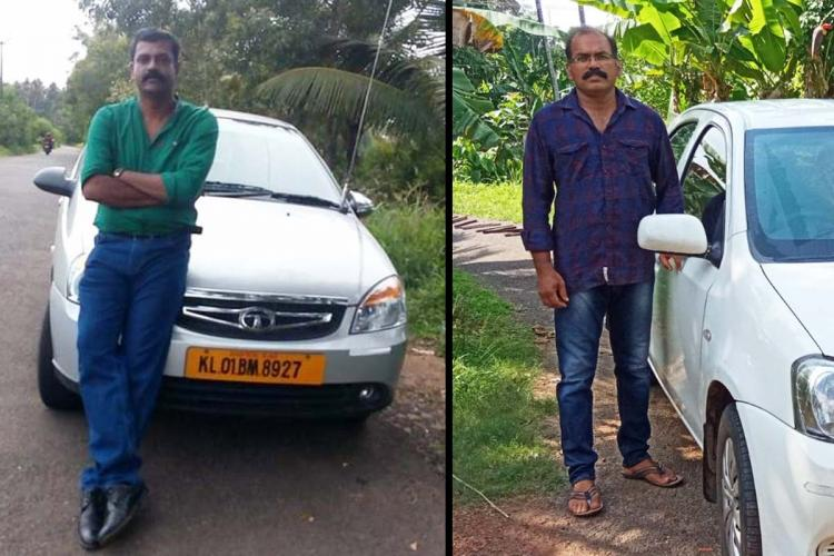 Roy and Dileep taxi drivers
