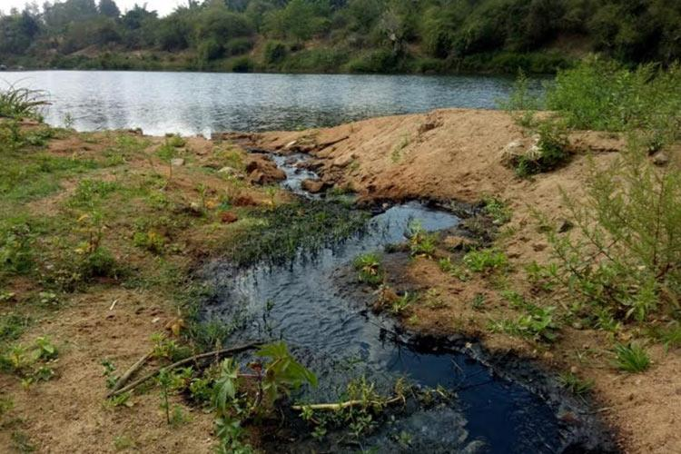 Coffee pulp water being let into River Cauvery Kodagu residents allege Probe on