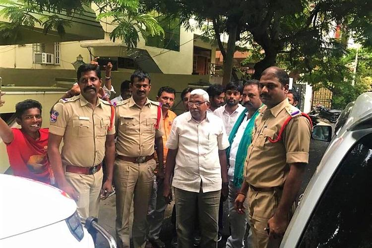 TJAC chief Kodandaram detained again for a second day slams ruling TRS govt in Telangana