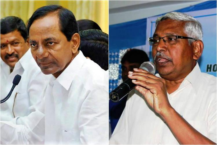 Telangana CM KCR lashes out at Kodandaram flays TJAC chairman for dirty politics