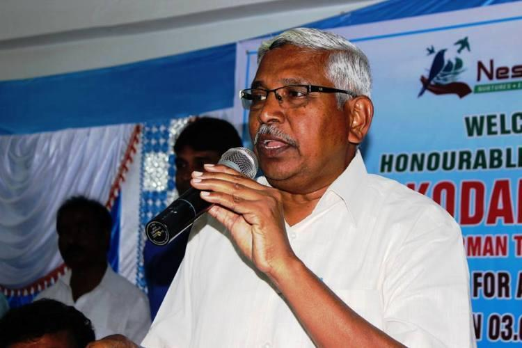 TJAC chairman Prof Kodandram to float a political party ahead of 2019 elections