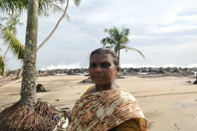 We live in fear Kerala coastal residents demand wall after sea washes homes away