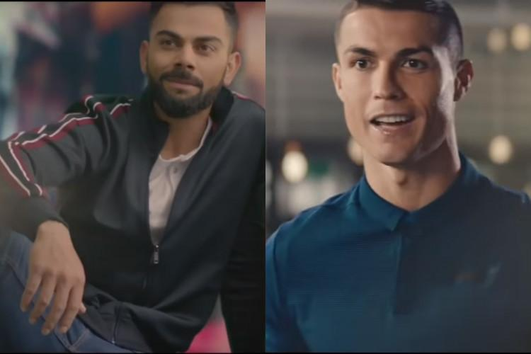Watch Virat Kohlis latest ad campaign is here and you wont believe who it features