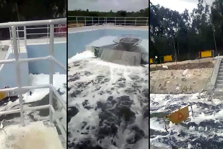Kolar activists threaten to send Bengalurus foam water in tankers to MLAs