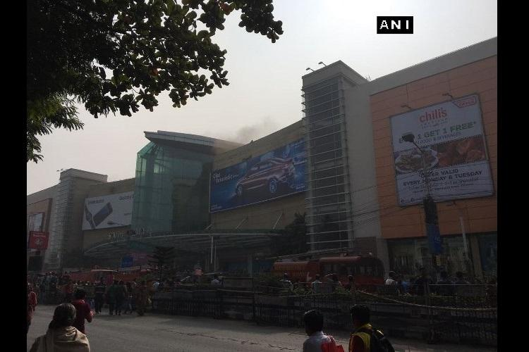 Fire breaks out at Kolkata shopping mall no injuries reported