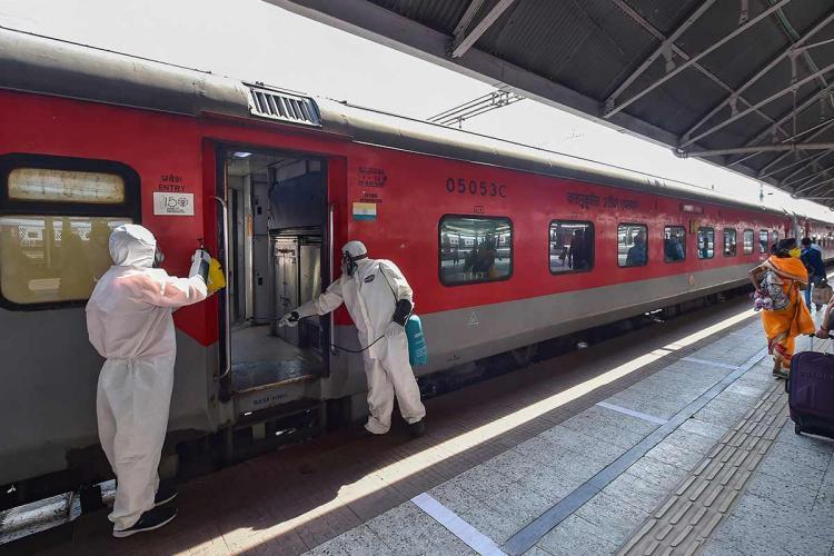 Railway employee in Kolkata
