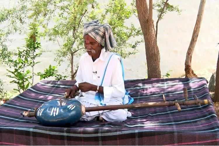 Meet Dasari Kondappa the last Burra Veena player in Telangana