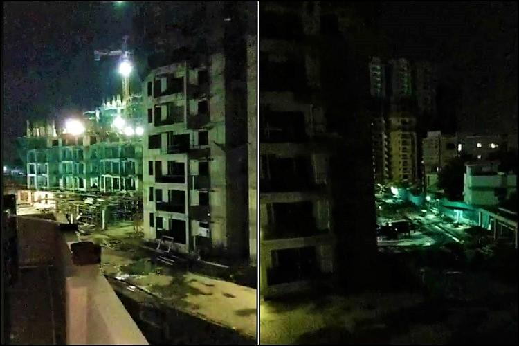 Hyds Kondapur residents sleepless say construction firm works through the night