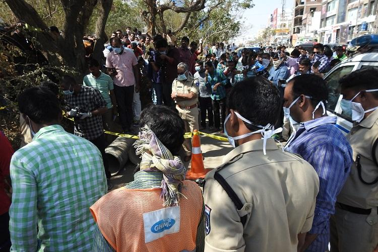 Ground report Hyderabad womans chopped body leaves residents in shock