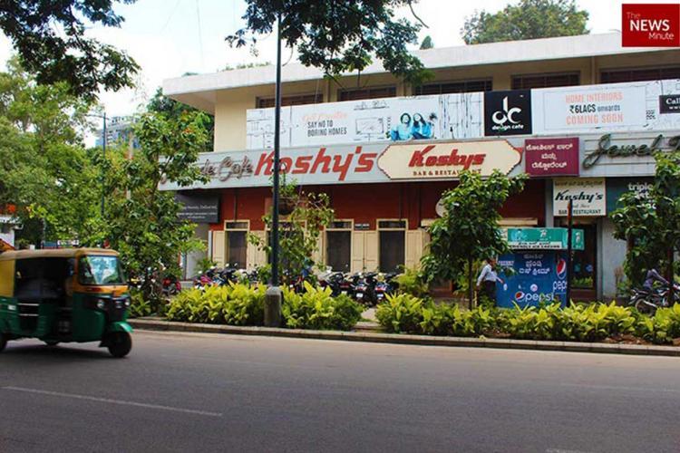 Koshys Restaurant in Bengaluru will close temporarily due to the pandemic