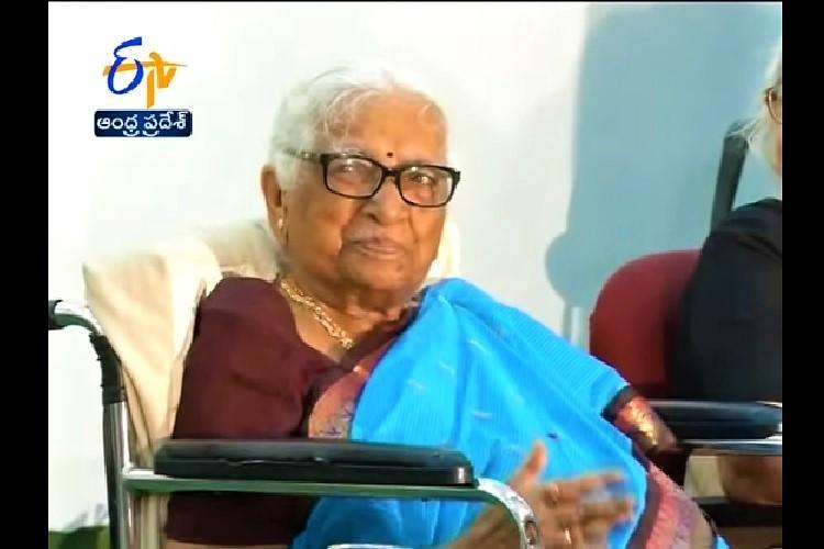 Educationist writer and activist Koteswaramma dies at 93 in Andhra Pradesh