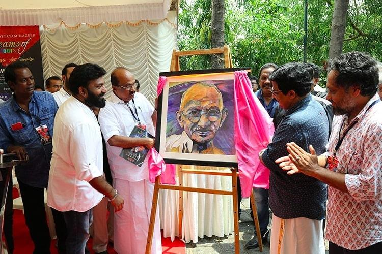 Dreams Of Colours Actor Kottayam Nazeer S Art