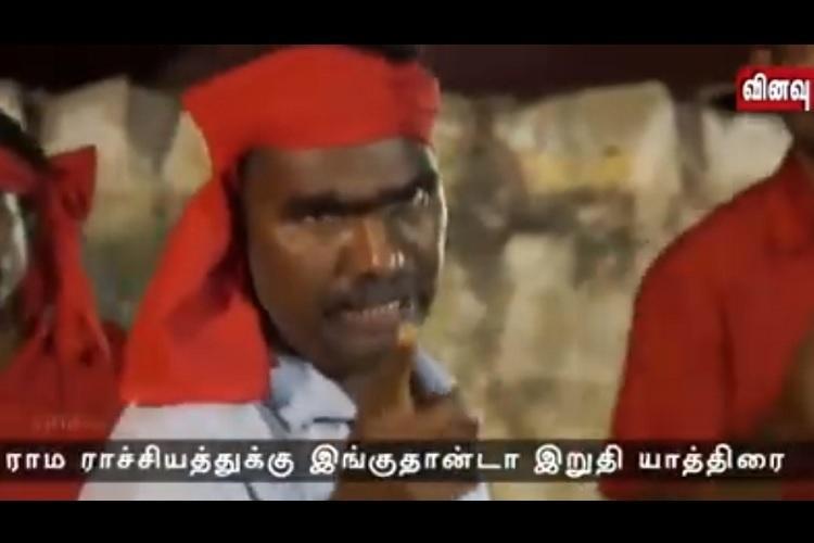 Like Rama Rajya Modis slippers ruling TN Kovans song slamming Rath Yatra goes viral