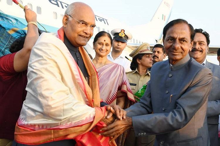 President Kovind arrives in Hyderabad for annual southern sojourn